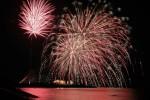 フィナーレを飾る大輪の花火