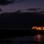幻想的な光が美しい「御旅所」